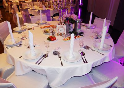 Bestuhlung-Hochzeit